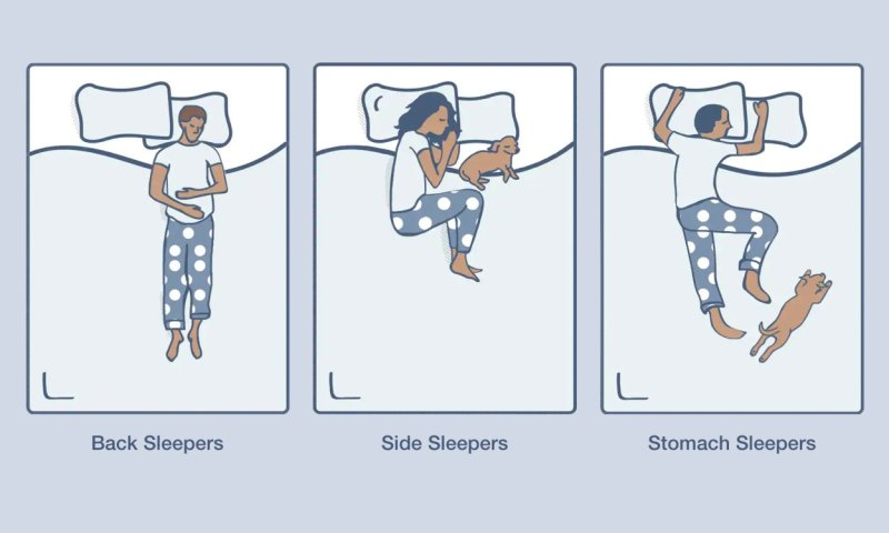 Different types of sleepers