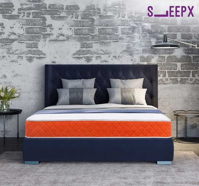 SleepX Dual mattress - Medium Soft and Hard