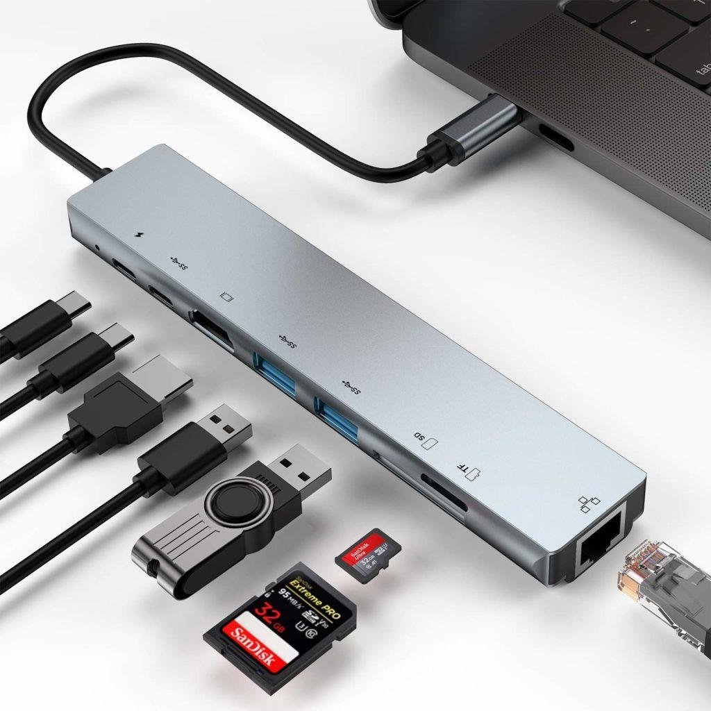 Kapa 8 in 1 Adapter - Best USB-C Hub